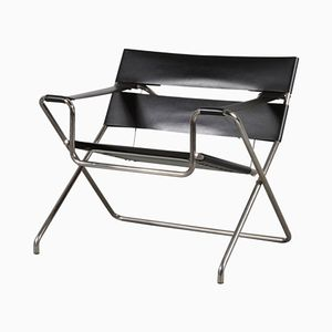 Foldable D4 Chair by Marcel Breuer for Tecta, 1980s