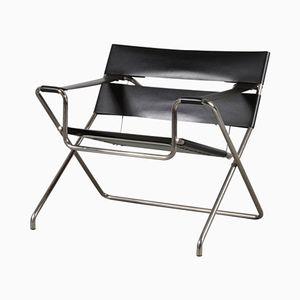 Klappbarer D4 Stuhl von Marcel Breuer für Tecta, 1980er