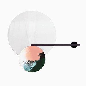 Specchio Balance-Mirror No. 08 con mensola di Elisa Strozyk