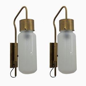 Lampade da parete LP10 Bidone di Luigi Caccia Dominioni per Azucena, 1958, set di 2