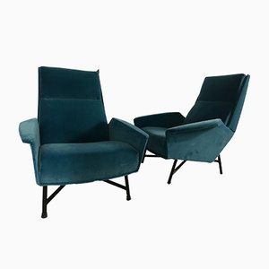 Armchairs by Claude Delor, 1960s, Set of 2