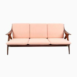 Dutch Mid-Century Sofa in Teak from De Ster Gelderland, 1960s