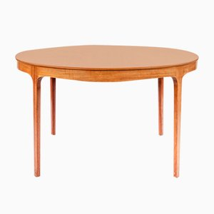 Coffee Table in Teak by Ole Wanscher for A. J. Iversen, 1955