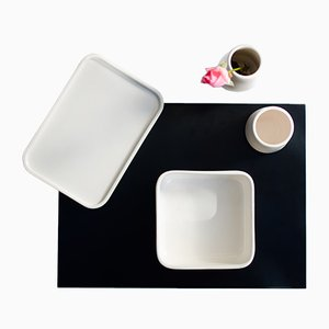 Set da tavola Per Inciso con vassoio in alluminio di Orma