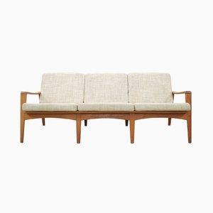 Canapé 35 Vintage en Teck par Arne Wahl pour Komfort, Danemark