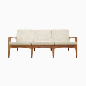 Vintage Danish 35 Teak Sofa by Arne Wahl Iversen for Komfort