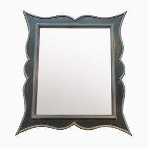 Specchio neoclassico nero, anni '30
