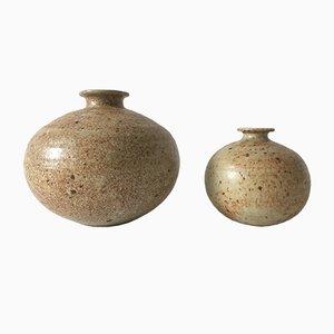 Italienische Mid-Century Vasen, 1960er, 2er Set