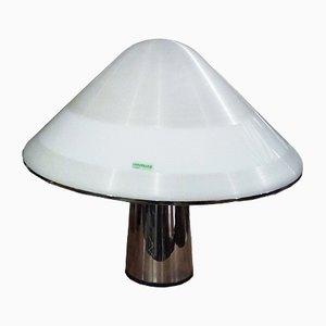 Lampada da tavolo a forma di fungo di Guzzini, anni '60
