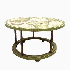 Table Basse Vintage Peinte à la Main