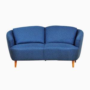 Mid-Century Two-Seater Banana Sofa, 1950s