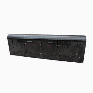 Fabrik Sideboard aus Genietetem Metall, 1920er
