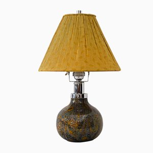 German Ikora Glass Table Lamp from WMF, 1930s