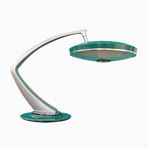 Mid-Century Spanish Model 64 Boomerang Desk Lamp from Fase, 1960s