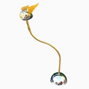 Lámpara de mesa flexible, años 80