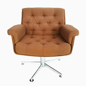 Lounge Swivel Armchair from Airborne, 1970s