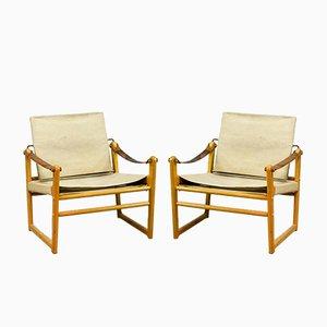 Mid-Century Armlehnstühle von Bengt Ruda für Ikea, 1960er, 2er Set