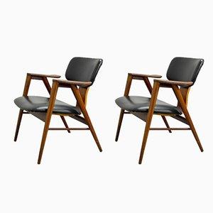 FT14 Sessel von Cees Braakman für Pastoe, 1950er, 2er Set