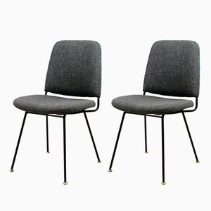 Italian Side Chairs from Arflex, 1950s, Set of 2