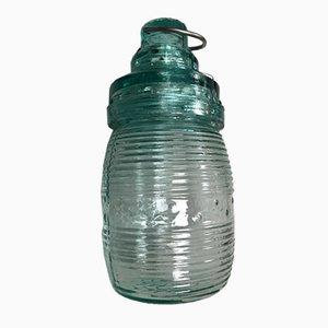 Industrielle Sowjetische Glas Lampe