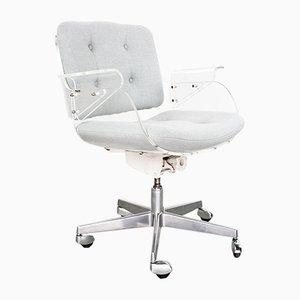 Mid-Century Lucite & Chrome Desk Swivel Chair by Hans Könecke for Tecta, 1950s