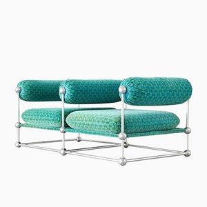 Modulares Mid-Century S420 Zwei-Sitzer Sofa von Verner Panton für Thonet