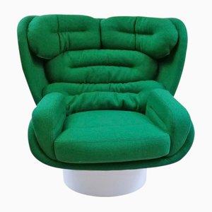 Vintage ELDA Sessel von Joe Colombo für Comfort Italy