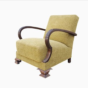 Vintage Art Deco Sessel, 1930er