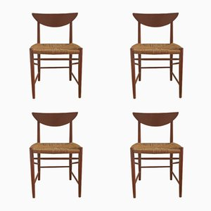 Model 316 Teak Dining Chairs by Peter Hvidt & Orla Mølgaard Nielsen for Søborg, 1960s, Set of 4