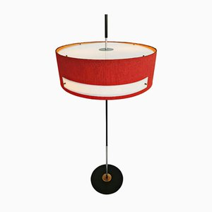 Lámpara de pie italiana, años 50