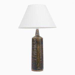 Lampada da tavolo in ceramica di Per Linnemann-Schmidt per Palshus, anni '50