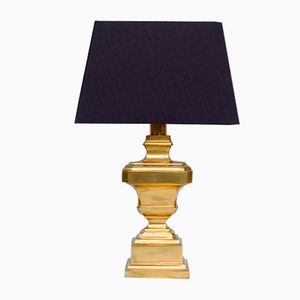 Table Lamp in Solid Brass, 1970s