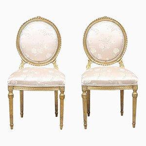Antike Stühle im Louis XVI Stil, 2er Set