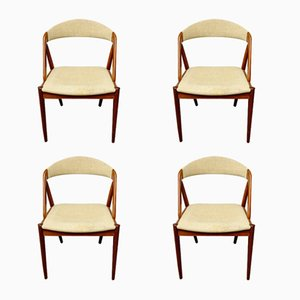 Model 31 Side Chairs by Kai Kristiansen, 1960s, Set of 4