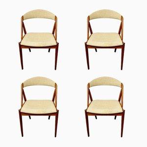 Sedie modello 31 di Kai Kristiansen, anni '60, set di 4