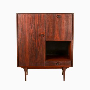 Mid-Century Dutch Rosewood Bar Cabinet from Fristho Franeker