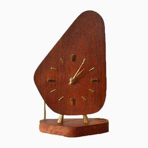 Horloge Vintage en Teck