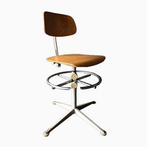 Chaise Pivotante Vintage Industrielle par Friso Kramer pour Ahrend De Cirkel