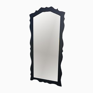 Mid-Cenutry Large Mirror with a Wooden Frame
