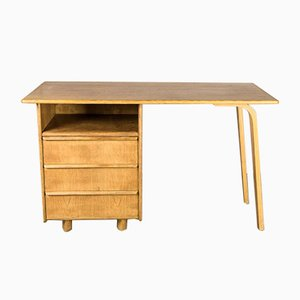 Mid-Century EE02 Oak Desk by Cees Braakman for Pastoe