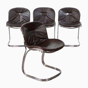 Chaises de Salon Sabrina Vintage par Gastone Rinaldi pour RIMA, Italie, 1970s, Set de 4