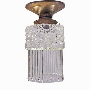 Lámpara de techo modernista, años 10