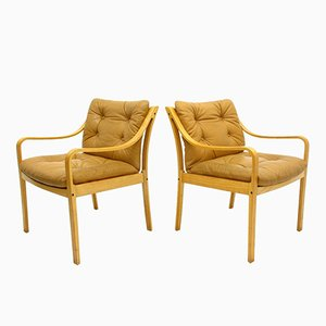 Model 108 Chairs by Fredrik A. Kayser for Vatne Møbler, 1970s, Set of 2