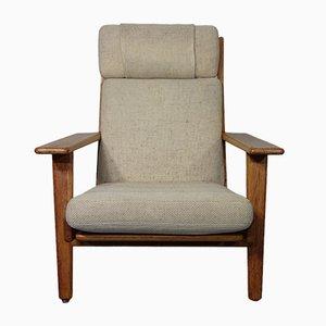 Teak GE 290 Sessel von Hans J. Wegner für Getama, 1960er
