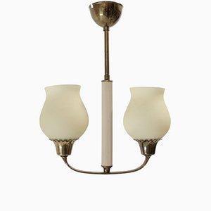 Lámpara de araña escandinava modernista, años 60