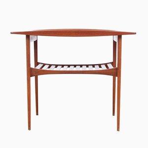 Table d'Appoint Modèle FD510 en Teck par Tove & Edvard Kindt-Larsen pour France & Søn, 1956