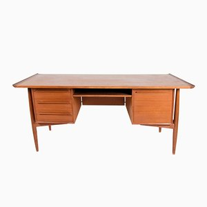 Danish Desk by Arne Vodder for H.P. Hansen, 1960s