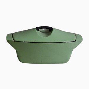 Casseruola vintage verde di Raymond Loewy per Le Creuset