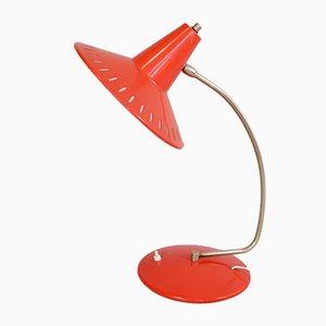 Perforierte Metall Tischlampe von J.J.M. Hoogervorst für Anvia, 1950er