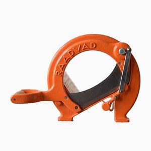 Trancheuse à Pain Mid-Century Orange par Ove Larsen pour Raadvad, Danemark